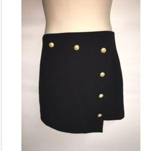 Express Skirt Size 6 Womens Length 16 Black NWT
